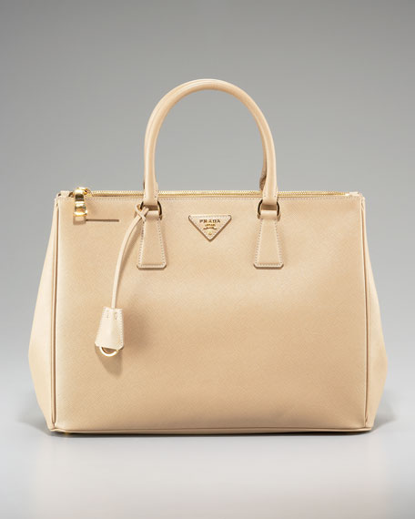 Saffiano Top-Handle Tote
