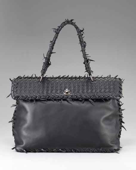 Napa Fringe Flap Bag