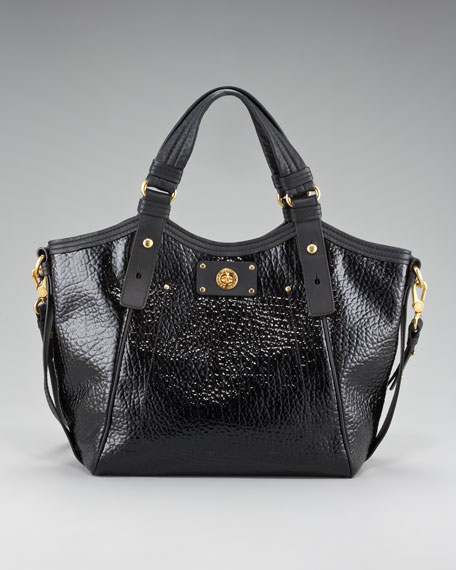 Turnlock Shine Fran Tote