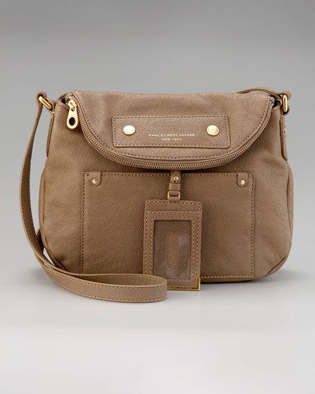 Preppy Leather Natasha Crossbody