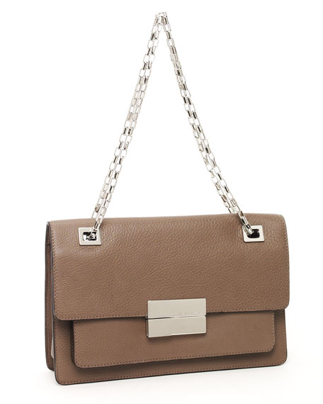 Quinn Rectangular Shoulder Bag, Elephant