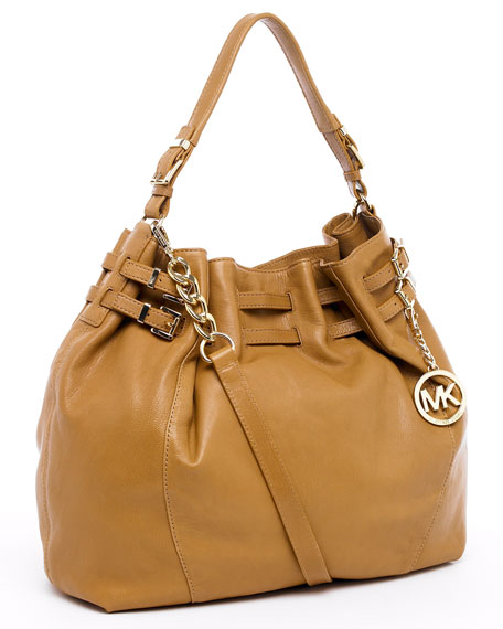 Edie Extra-Large Shoulder Bag, Peanut