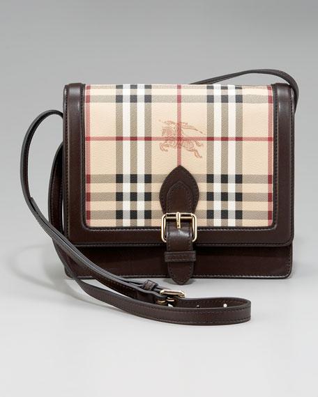Check Crossbody Bag, Small