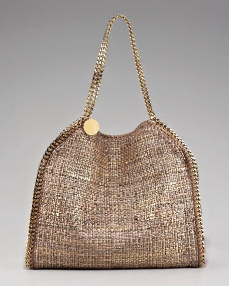 Metallic Boucle Falabella Bag, Small