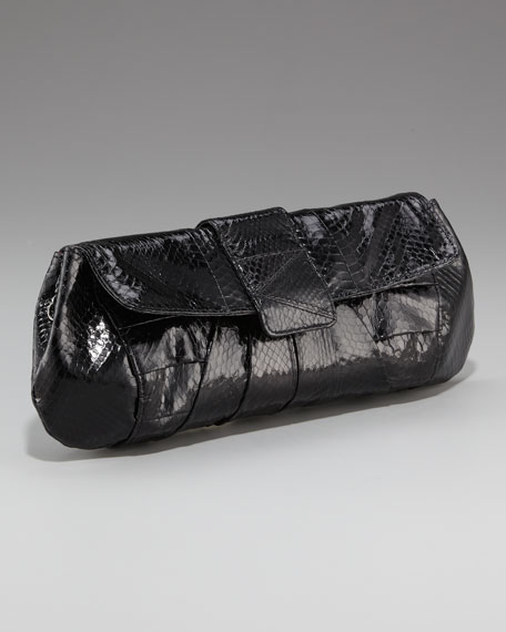 Kloss Clutch, Snakeskin