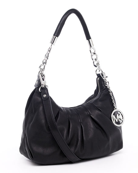 Erin Medium Shoulder Bag, Black