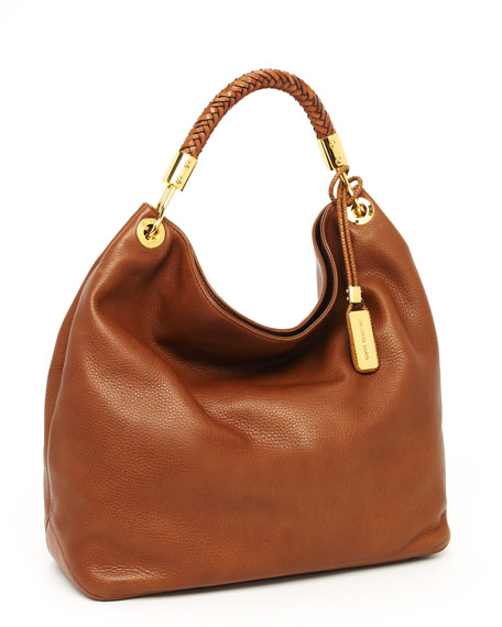 Skorpios Large Shoulder Bag, Cinnamon