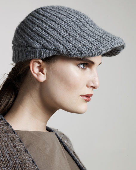 Ribbed Page Boy Hat