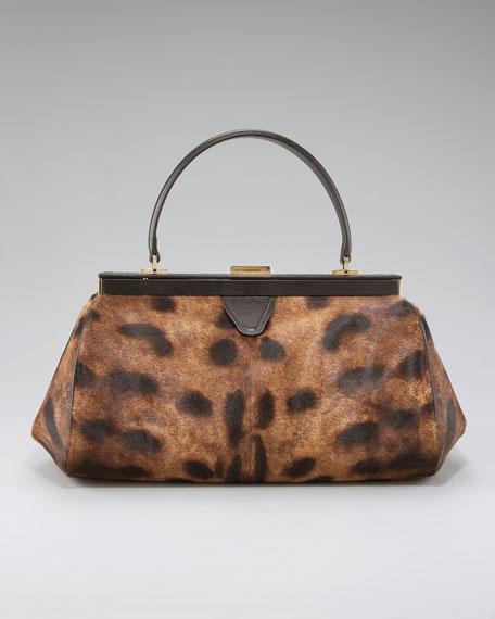 Borsa Animal-Print Handbag