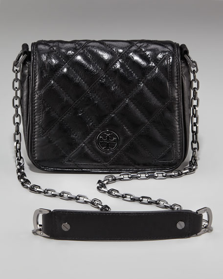 Quilted Leather Mini Bag
