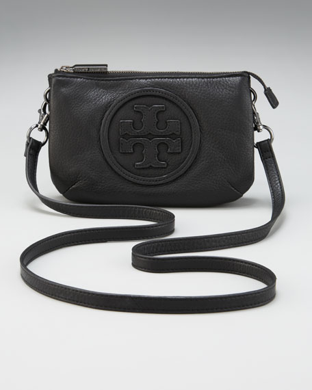 Logo Crossbody Bag, Black