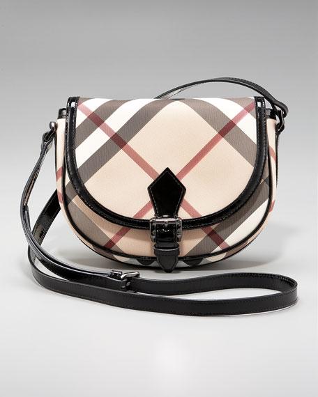 Check Mini Crossbody Bag