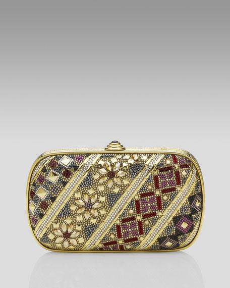 Royal Salon Crystal Clutch