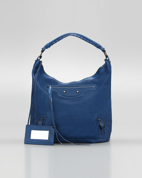 Classic Day Bag, Blue Cobalt