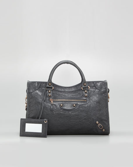Giant 12 Rose Golden City Bag, Anthracite