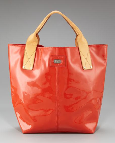 Addison Patent Leather Tote