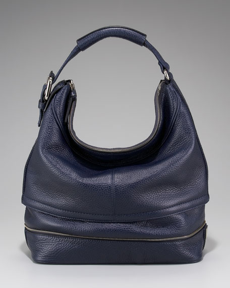 Mandy Leather Hobo, Small