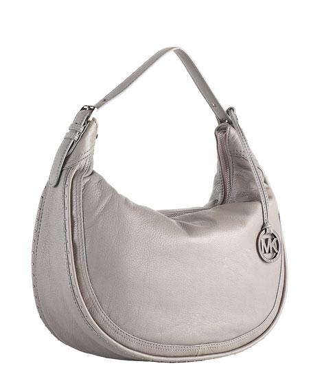 Ursula Large Shoulder Bag, Gray