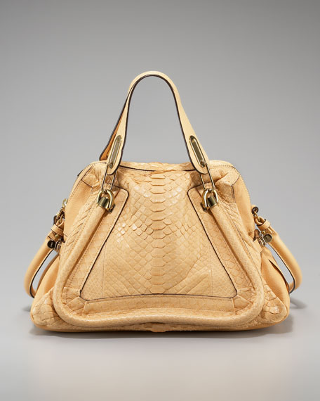 Paraty Python Shoulder Bag, Medium