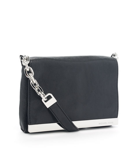 Julian Small Shoulder Bag, Black