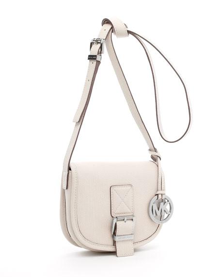 Small Saddle Bag Messenger, Vanilla