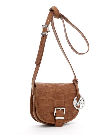 Small Saddle Messenger Bag