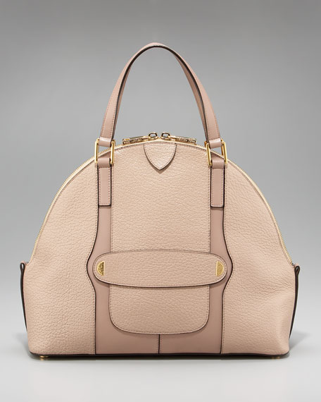 The Bowery Satchel, Taupe