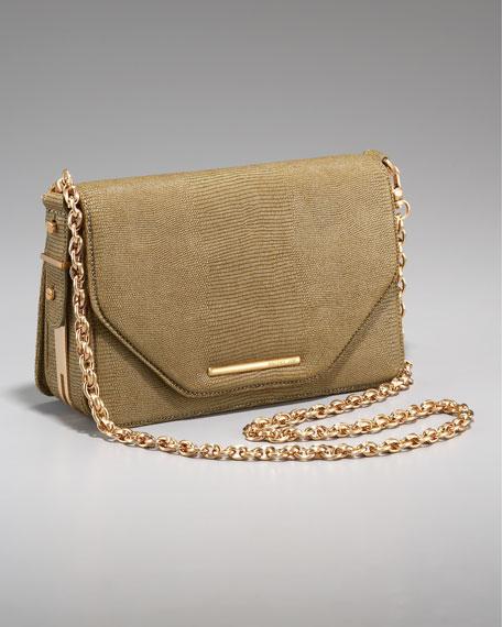 Charlotte Chain-Strap Bag, Gold