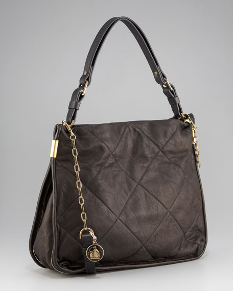 Quilted Amalia Bucket Bag