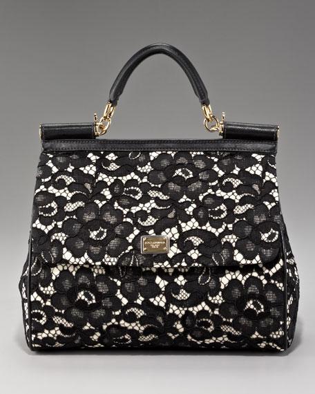 Miss Sicily Lace Handbag
