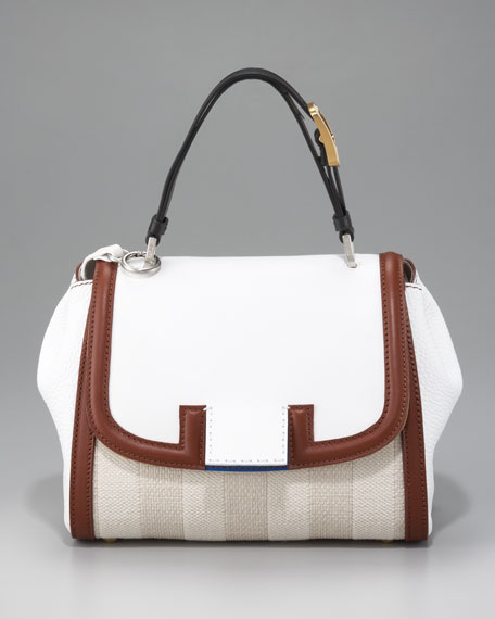 Pequin Silvana Handbag, Natural
