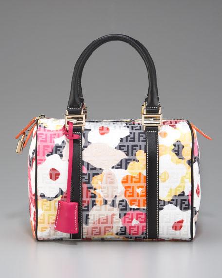 Floral Zucca Bowler Bag