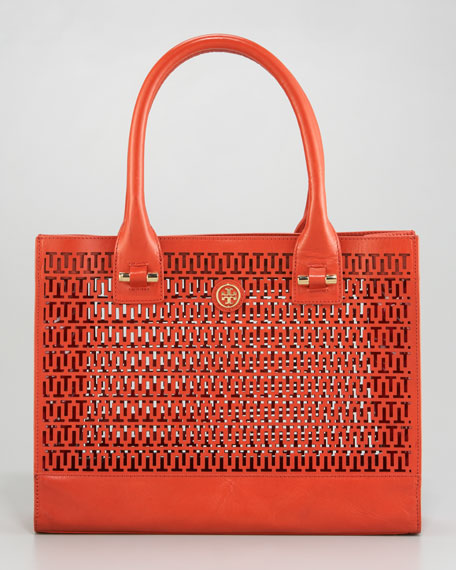 Ella Logo-Perforated Tote