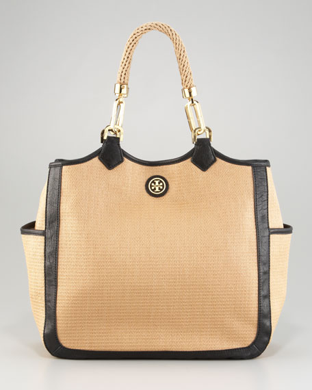 Channing Straw Tote