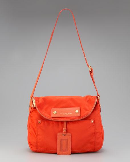 Sasha Preppy Nylon Shoulder Bag