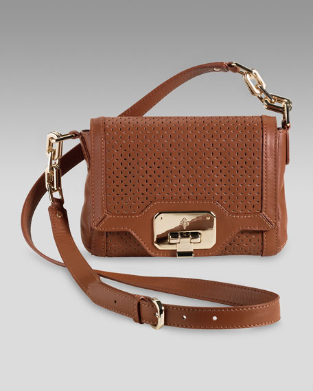 Marisa Perforated Crossbody