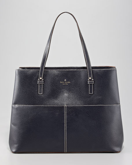 gabriel leather tote, large