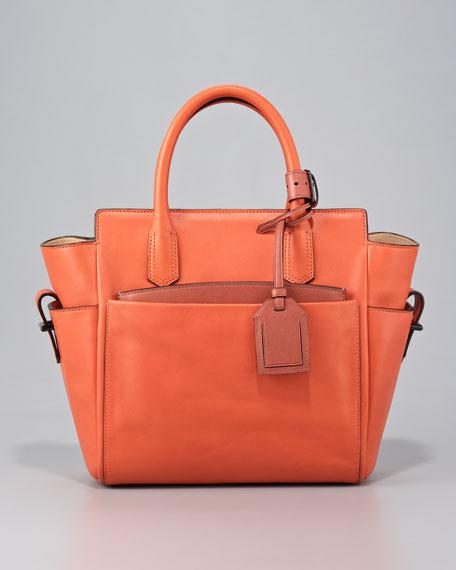 Mini Atlantique Tote Bag, Saturn/Adobe
