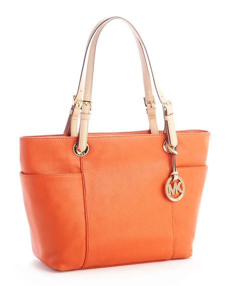 Jet Set Tote, Burnt Orange