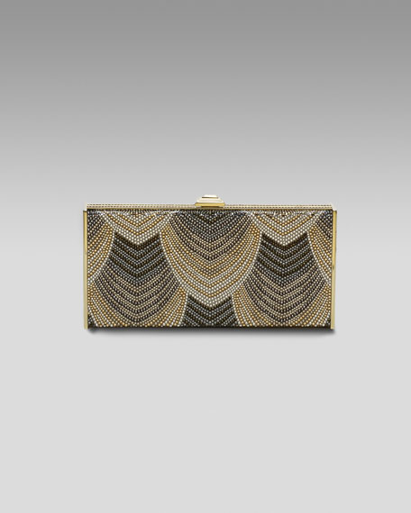 Pave Deco East-West Clutch