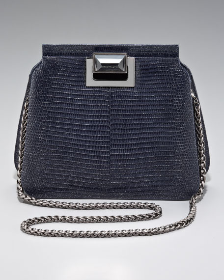 Sidra Lizard Shoulder Bag