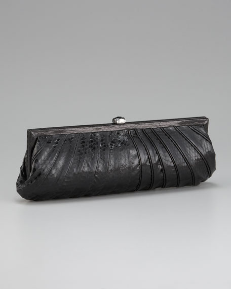 Fane Pleated Clutch