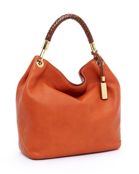 Skorpios Large Shoulder Bag, Tangerine