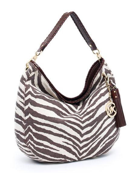 Large Bennet Shoulder Bag, Tiger