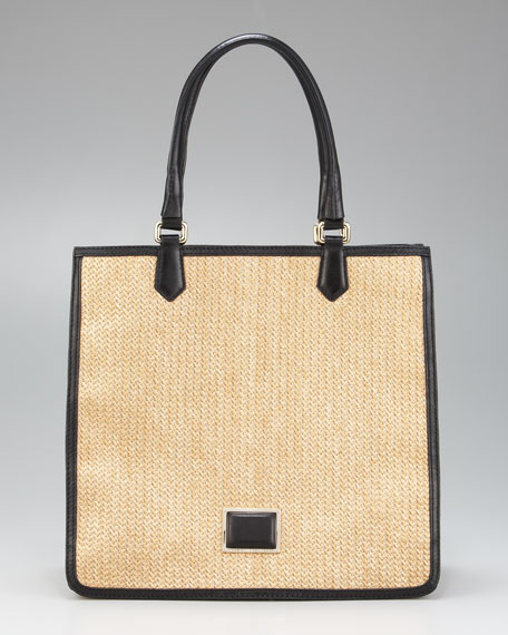 Solid Straw Sami Tote