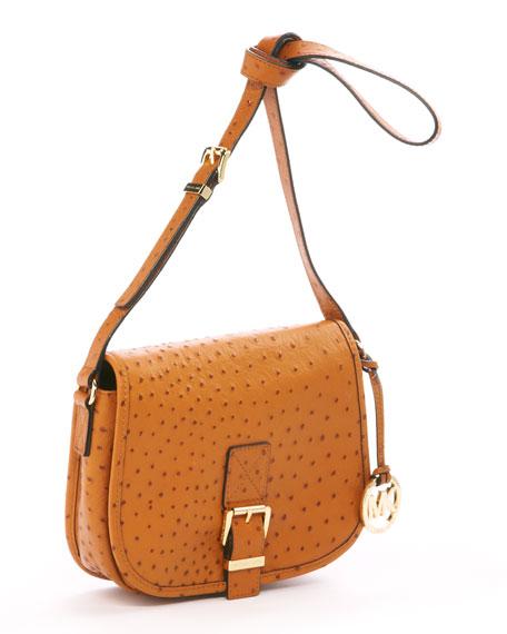 Medium Saddle Bag Messenger Bag, Luggage