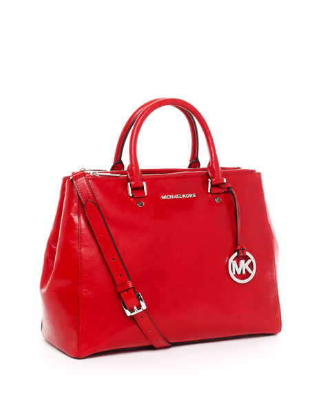 b61d4544e655db michael kors black and red bag selma bag by - Marwood VeneerMarwood ...