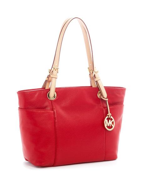 Jet Set Tote Bag, Red