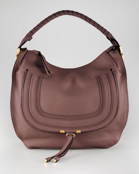 Marcie Large Hobo Bag, Nut
