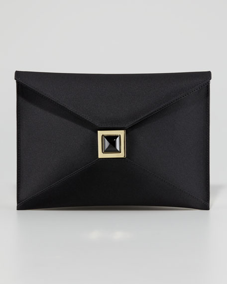 Prunella Satin Clutch Bag